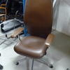 Mariani Brown Hide Delphi High Back Executive Chair