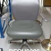 Mariani Grey Hide Delphi Low Back Swivel Visitor Chair