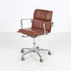 Luxy Italia Tan & Chrome Soft Pad Low Back Executive