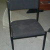 Charcoal Speight Fabric Stacking Chair