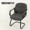 Charcol Grey Fabric/Black Cantilever Frame Elbow  Desk Chair