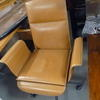 Mariani Wing Natural Tan  Hide Conference Chair