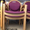 Carlton Plum And Beech Elbow Chair