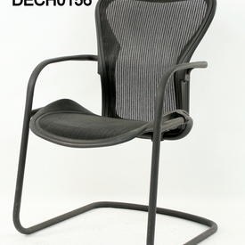 Herman Miller Aeron Blue/Black Or Black Visitor Chair