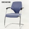Giroflex Pale Blue Fabric Visitor Chair