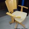 Caligaris Beech Swivel Office Chair