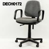 B Pale Brown/Grey Fabric Operator Chair