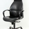 Black Lea Narrow Top Pilot Hi Back Swival Chair