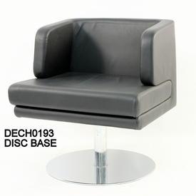 B G-Four Leg Black  Swivel Or Fixed Chair