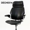 Black Leather Hscale 'freedom' Executive Desk Chair