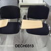 Black Fabric & Chrome Students Chairs