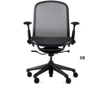 Black on Black Knoll Chadwick Mesh Executive Chair