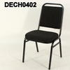 Black Frame Charcoal Seat & Back Mission Stacking Chairs