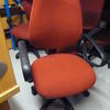 Silver Fox Calex Excel Red Elbow Swivel Typist Chair
