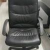 Black Faux Leather High Back Niceday Swivel Chair