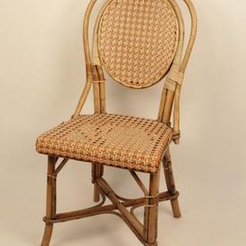 Colour Trim Wicker/Cane Occasional Chair