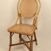 Colour Trim Wicker/Cane Occasional Chair