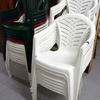 Various Coloured  Plastic Garden Chairs