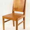 Planked Teak Garden/ Dining Chair  (50s)