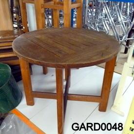 Kircodan Low Teak Circular  Garden Table  (50S)