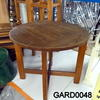 Kircodan Low Teak Circular  Garden Table  (50s)