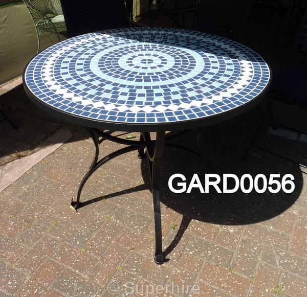 Garden Furniture Mosaic superhire