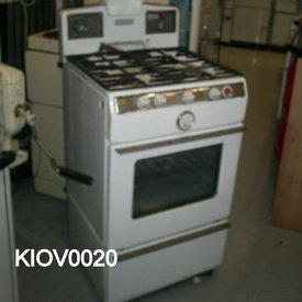 Parkinson Autoprince White Gas Cooker
