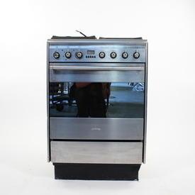 Smeg S/Steel Slot in Gas Suk61 Cooker