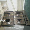 Rex S/Steel & Black Gas Hob