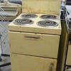 Cream 50's English Electric  Cooker