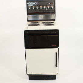 Creda Hallmark Brown/Cream Electric Cooker