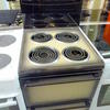 Belling Faded 2 Tone Brown 4 Coil Ring Electric Cooker