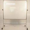 5' X 4' Nobo Revolving Wipeboard On Stand