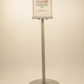 Nobo Ali Floor Standing Direction/Menu Sign Eurest