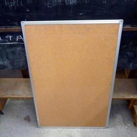 3' X 2' Nobo Office Ali Frame/Cork  Notice Board