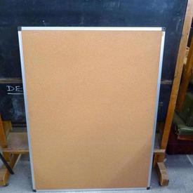 4' X 3' Nobo Office Ali Frame/Cork  Notice Board