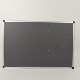 3' X 2' Nobo Office Ali Frame/Grey  Notice Board