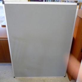 4' X 3' Nobo Office Ali Frame/Grey  Notice Board