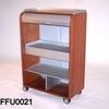 Cherry Wood & Ali Roll Front 'ycami' Large Office Unit