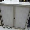 Assd Grey Metal 3' Tambour Door Cupboards
