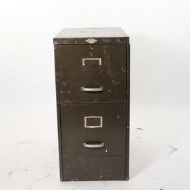 Metal Ass 2 Drawer Filing Cabinet