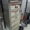 Chrome 7 Drawer German Design Filing Cabinet