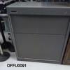 Carlton Flexiform Med Grey Tambour Cupboard