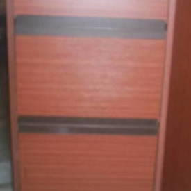 Km 4 Drawer Sapele Filing Cabinets