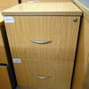 Ffc Oak 2 Drawer Filing Cabinet