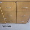 Oak Ffc 3 Drawer Filing Cabinet