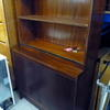 Sapele 5' X 3' 2 Door & Open Shelf Cupboard