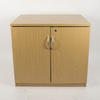 Ffc Oak Low 2 Door Cupboard