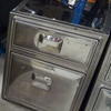 Chrome 2 & 3  Drawer German Design Filing Cabinet
