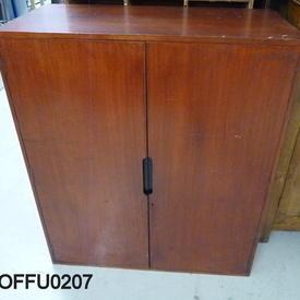 3'10'' X 3' Devon Teak 2 Door Cabinet  (50S)